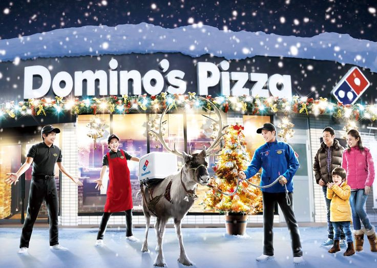 Domino's is training reindeers in Japan to deliver pizza