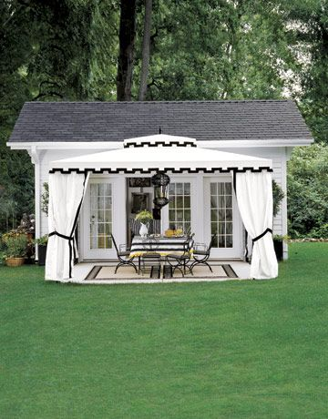 33 best converted sheds images on pinterest garden for Shed into pool house
