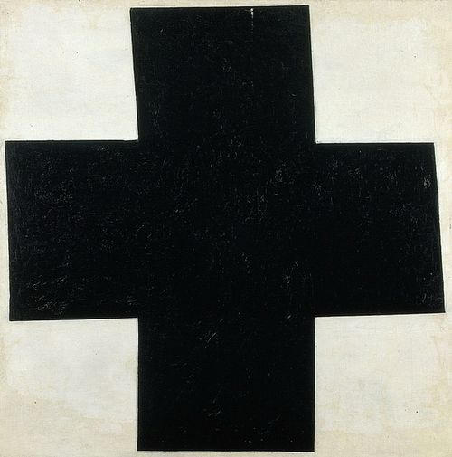 Kazimir Malevich . Black cross. 1923.