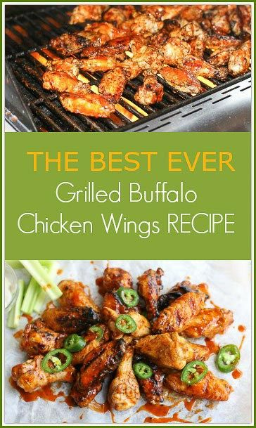 This is the best Grilled Buffalo Chicken Wings Recipe you will ever ...