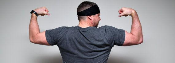 Men's Headband  Sports Headband  Workout by WildandFreeFashion
