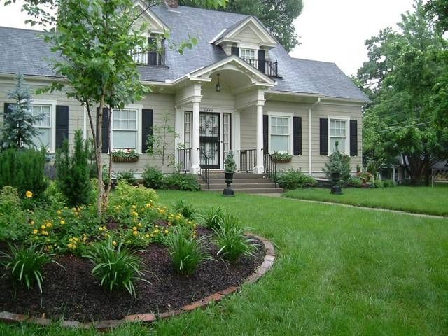 38 best images about front yard on pinterest gardens planters and front yards - Garden design ks ...