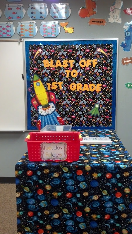 The 73 best images about space on pinterest the astronauts astronauts and outer space theme - Outer space classroom decorations ...