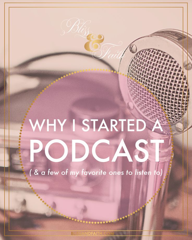 I'm telling you all about my podcast, Branded Bliss, which I launched last month. Podcasting is very similar to blogging in that there is a lot of time and dedication involved. Many may not think that it is, since its just recording audio, but it is. One of the main ways its similar to blogging is that you have to constantly be thinking of and coming up with useful, valuable, and quality content.