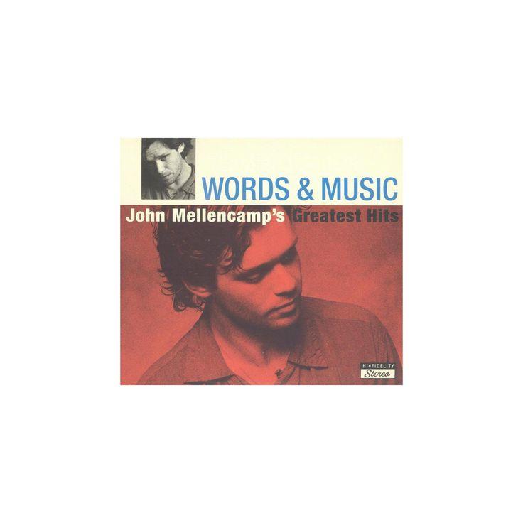 John mellencamp - Words & music:Greatest hits (CD)