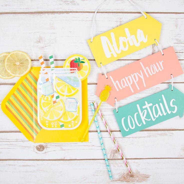 Take time to enjoy sunshine and sweet sips.