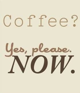Coffee? Yes, please!