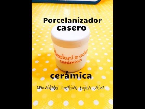 DIY porcelanizador casero para Cerámica Servilleta fácil porcelanizador for ceramics - YouTube