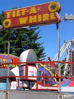 Tilt-A-Whirl!  Delaware County Fair Walton, NY  Yeah, baby!