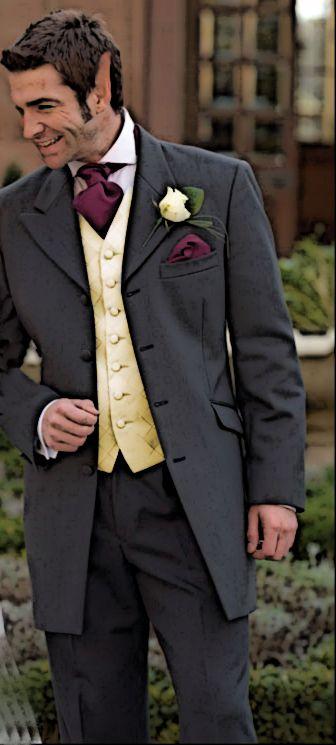 The groom (Gilthanas Soth, Half-Human Sin'Dorei)