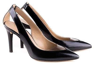 Perla Formentini Velia Leather Slingback Pump #shoes #leathershoes #pumps