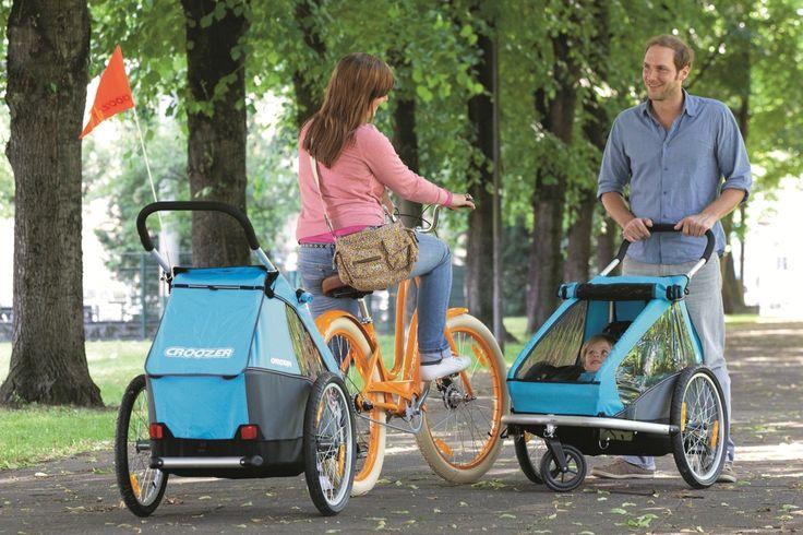 Kinderanhänger vs. Kindersitz #Bike #Fahrrad