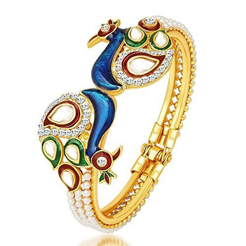 Indian Bollywood Gold Plated Multi Peacock Style White Pe... https://www.amazon.com/dp/B06WLLQPS9/ref=cm_sw_r_pi_dp_x_exmrzbVEPVY3D