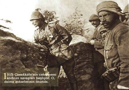1915 Çanakkale Savaşları'nda