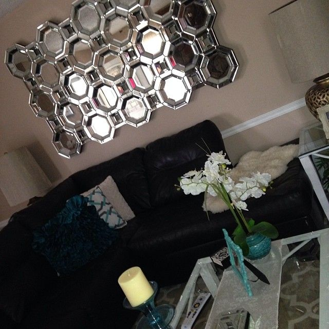 Family Rooms We Love: Our Axis Mirror Is A Recent Addition To @Anitra B's Living