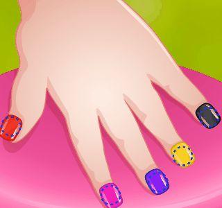 Baby Barbie Great Manicure, jocuri cu barbie, unghii si manichiura