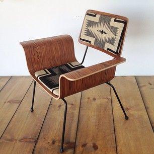 pendelton fabric chair