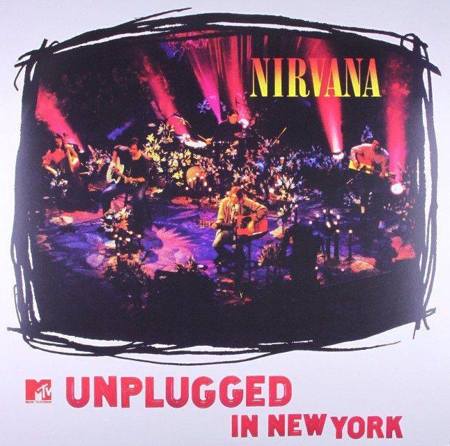 Nirvana- MTV Unplugged in New York Vinyl Record 180g