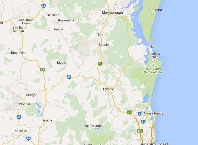 Gympie Region Food Trail Map