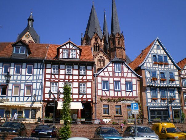 Beautiful Gelnhausen Alemanha Germany