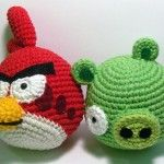 Awesome, all-crochet angry bird patterns!
