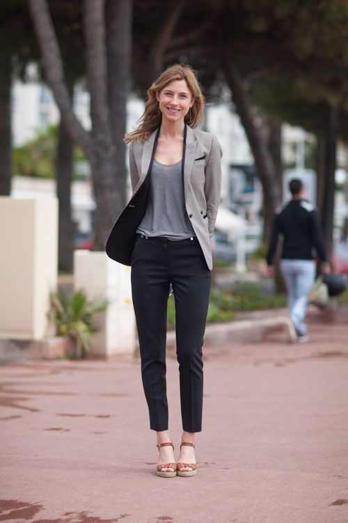 Seaside Chic: Street Style at the Cannes Film Festival