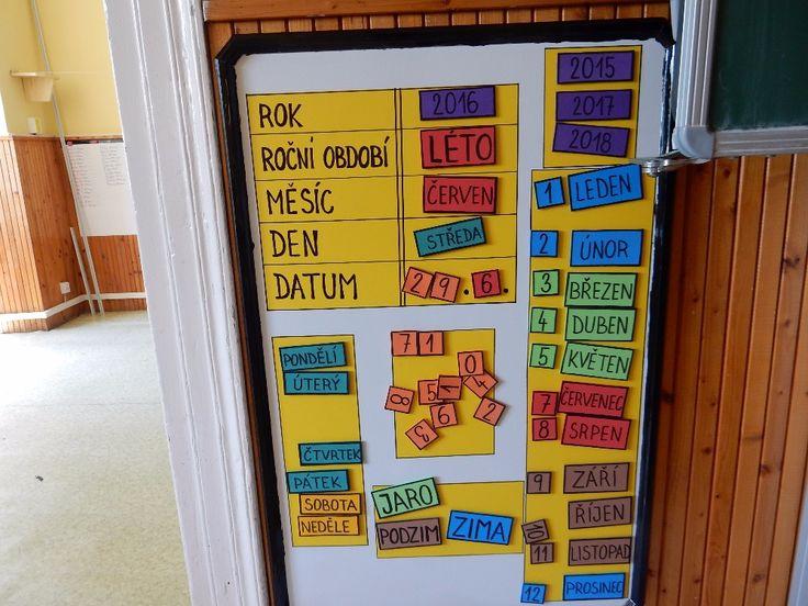 kalendář na magnety