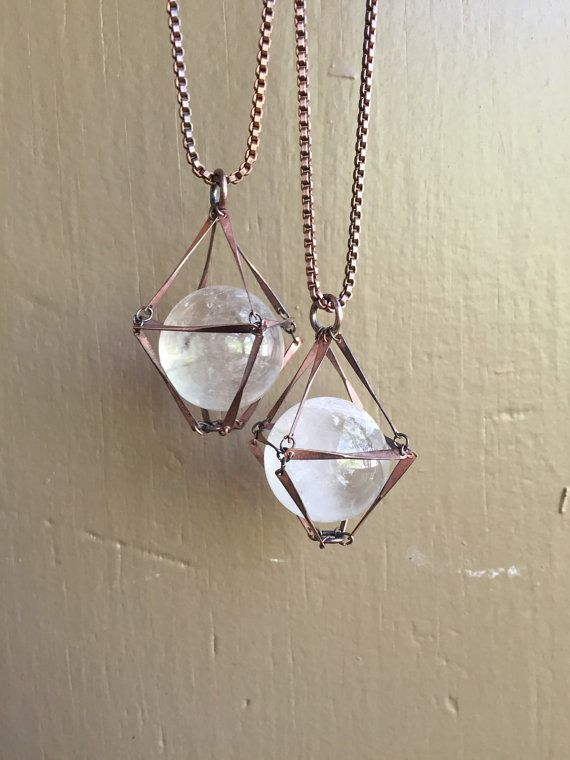 Hey, I found this really awesome Etsy listing at https://www.etsy.com/listing/230238783/crystal-ball-necklace-quartz-ball