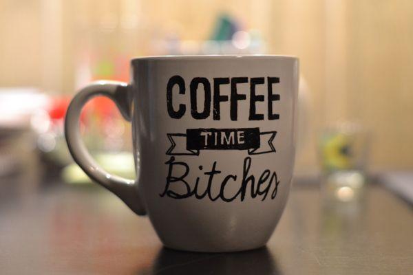 Custom Coffee Mug by Shannon Draper, via Behance