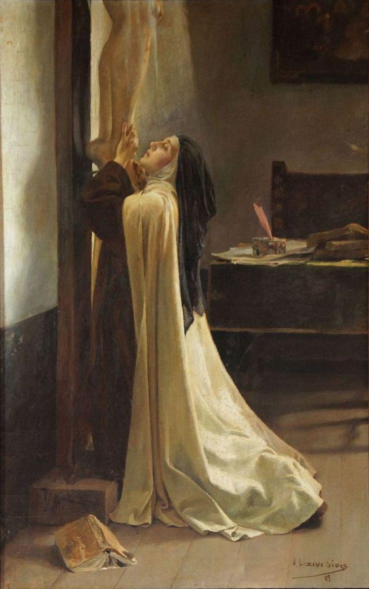 161 besten teresa de avila bilder auf pinterest religi se bilder christliche bilder und glaube - Teresa von avila zitate ...
