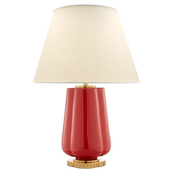 Find This Pin And More On Lighting. Eloise Table Lamp In Berry Red ...