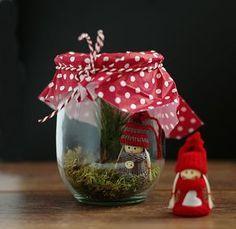 DIY - Hübsche Weihnachtsdeko im Glas - Lifestyle Blog: Kosmetik, DIY, Deko, Rezepte | Testbar