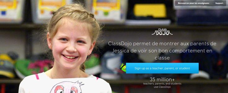 Class Dojo: logiciel de gestion du comportement sur smartphone et PC.