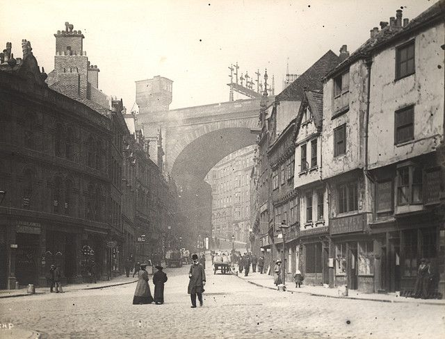 003818:The Side, Newcastle upon Tyne, 1907