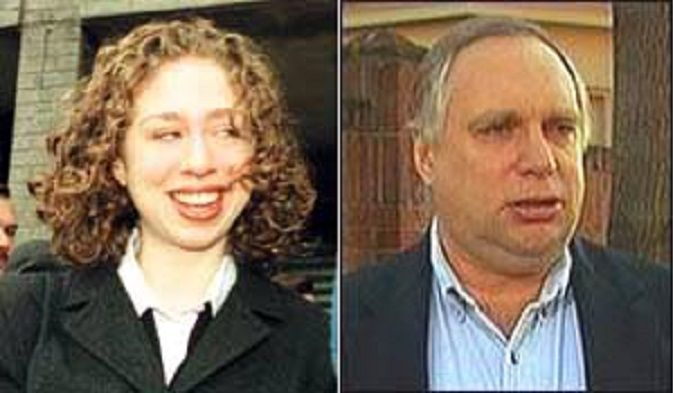 Chelsea Clinton; Webster Hubbell her real father