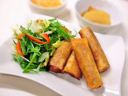 節約レシピ!豚キムチ春巻きの作り方 | nanapi [ナナピ]