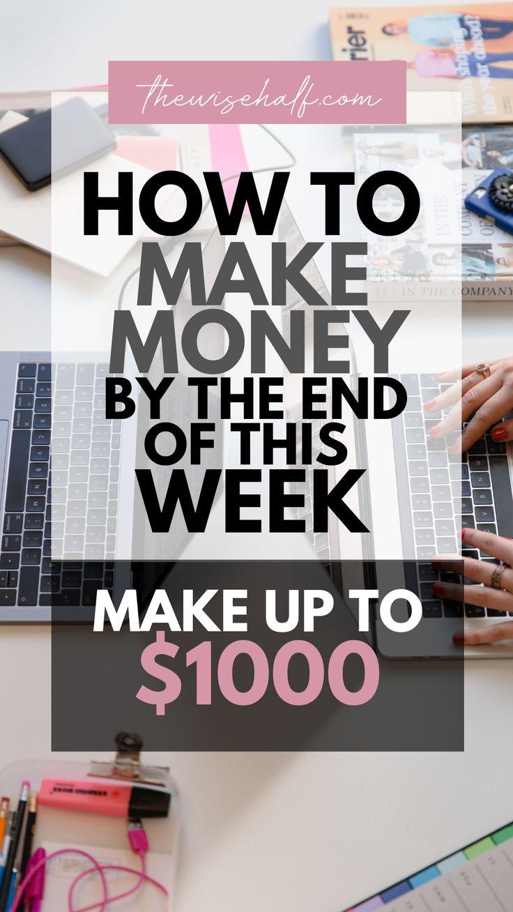How to make $1000/ Weekly. 10 Genius Ways To Make Money. – PrettyTatty