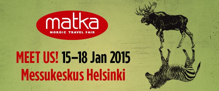 Are you planning to attend the Matka Travel Fair in January? We will be there!  #Geocollectors #Lapland #Matkamessut