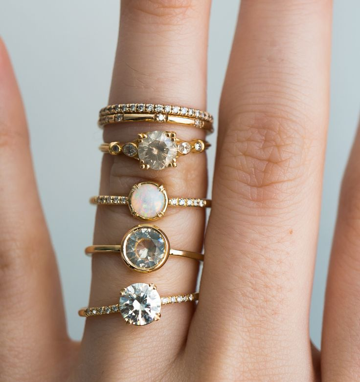 Ethical Engagement Rings from S.Kind & Co