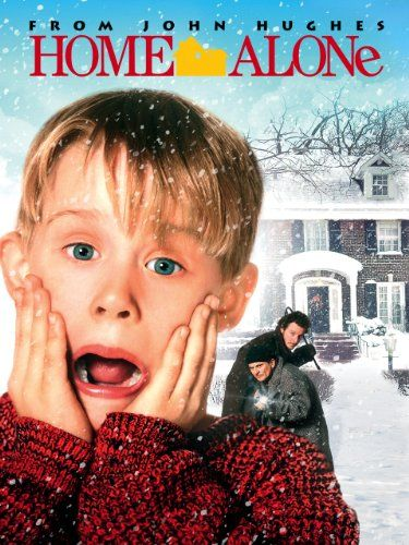 Home Alone (1990) An 8-year old troublemaker must protect his home from a pair of burglars when he is accidentally left home alone by his family during Christmas vacation.