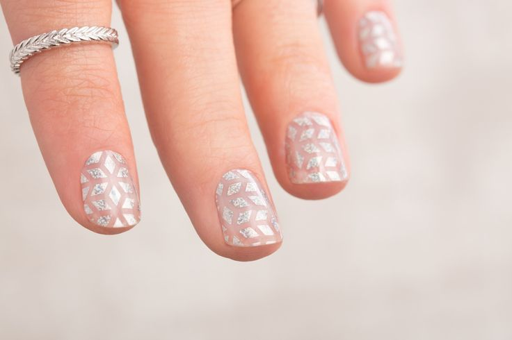 Dimonds Nails : STUNNING Geo Diamond Jamberry Nail Wraps!  For more inspiration like th