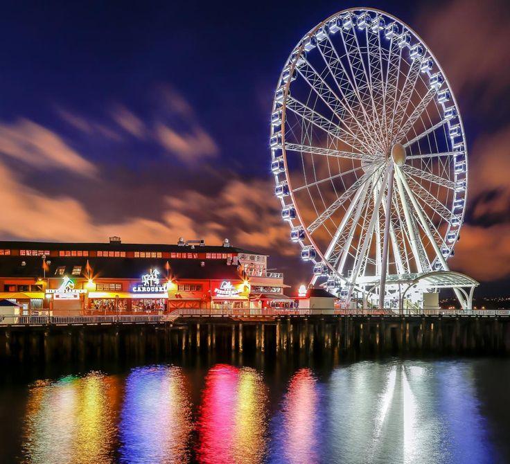 Best Places To Stay Near Seattle Wa: Best 25+ Ferris Wheels Ideas On Pinterest