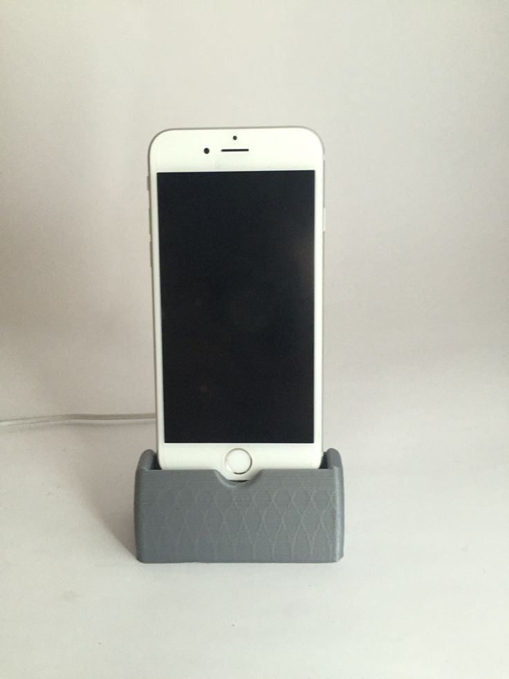 Impresión 3D de base para iPhone 6/6S