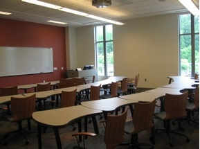 Part of Emory U. Classroom Initiative. The Classroom Design Guide is also impressive--articulates underlying principles with flexibility for implementation in a variety of spaces. http://college.emory.edu/home/assets/documents/facilities/classroomGuidelines.pdf