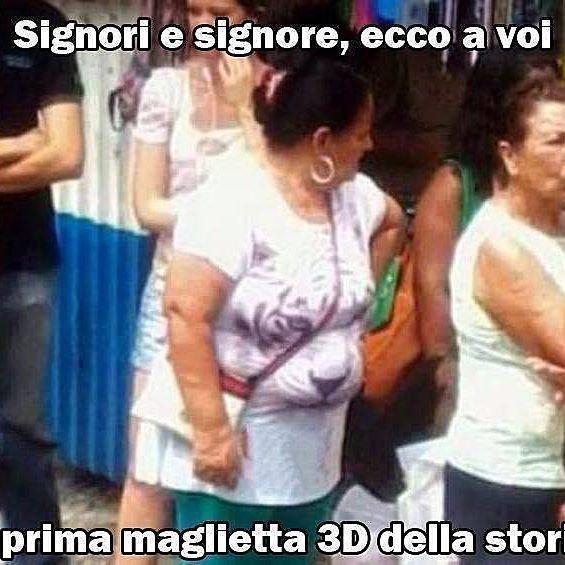 maglietta 3d