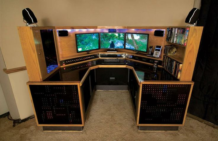 1 facebook gaming pc set ups pinterest facebook desks and room. Black Bedroom Furniture Sets. Home Design Ideas