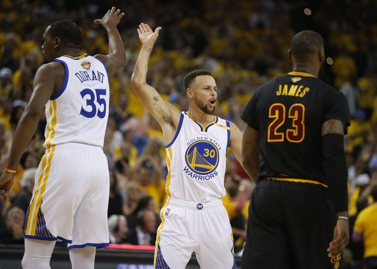 Basket, Finals Nba: Golden State batte Cleveland in gara 5 e si prende l'anello