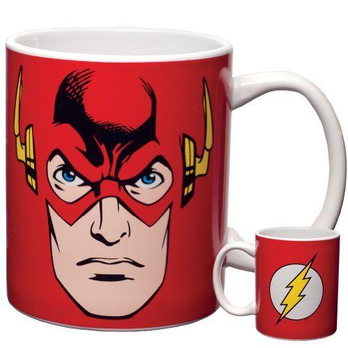 DC Comics - Flash Face 12 oz. Ceramic Mug Old Glory http://www.amazon.com/dp/B00DUE9HGG/ref=cm_sw_r_pi_dp_Gcfjvb0KBF3NM