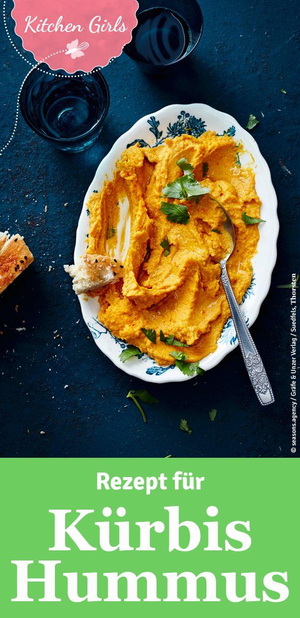 So einfach lässt sich Hummus selber machen! Wir zeigen euch ein herbstliches Rezept für Kürbis-Hummus!