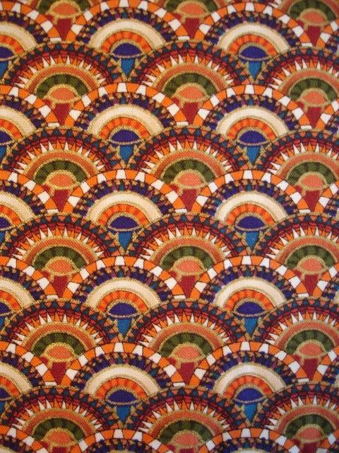Egyptian motif fabrics on etsy                                                                                                                                                                                 More